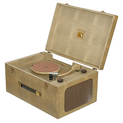 1957 HMV Record player2