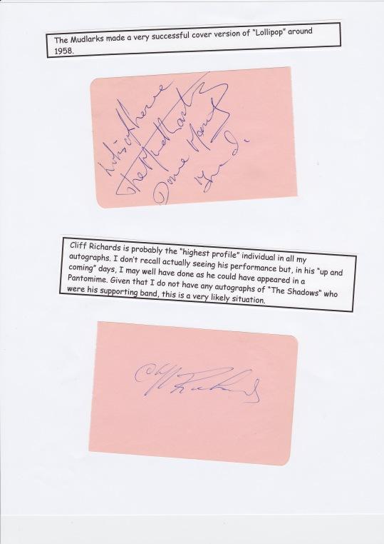 1958 Autographs
