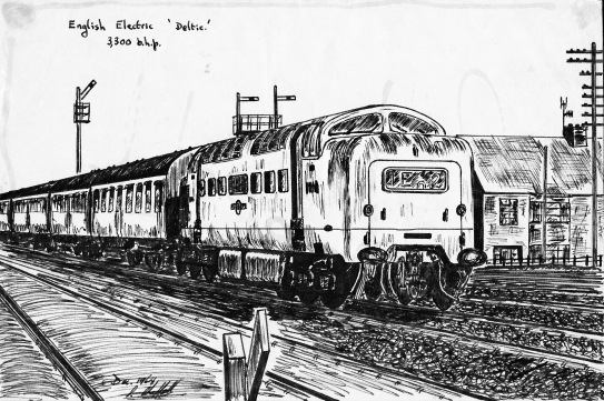 1964 Deltic pen and ink2